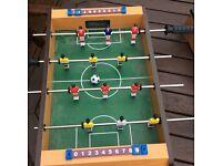 Football table 18/12in plus pool table £5