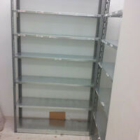 "Steel Shelving Units Blowout - Only $5 per shelf! 12"" x 48"""