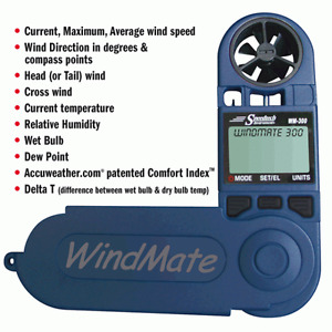 BNIB Windmeter Weatherhawk Blue