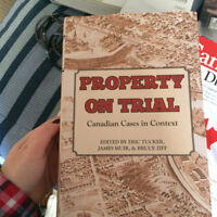 Laurentian - Property on Trial - Canadian Cases in Context
