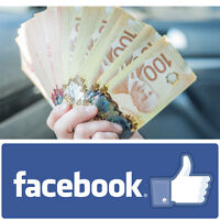 Easy Cash: Let Us Use Your Facebook Account For $100!