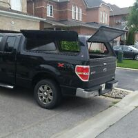 """2011 ford f150 """"cap"""" with windoors"""