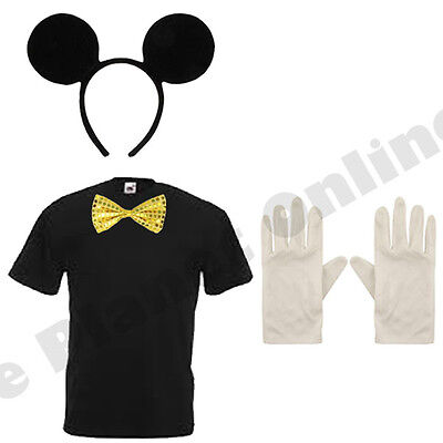 ADULT MENS MICKEY MOUSE FANCY DRESS COSTUME TV STAG NIGHT - Mickey Mouse Men Costume