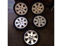 Citroen c2 gt alloys & tyres