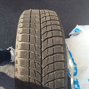 Four Winter tires and rims Kitchener / Waterloo Kitchener Area image 4