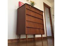Vintage mid century drawers