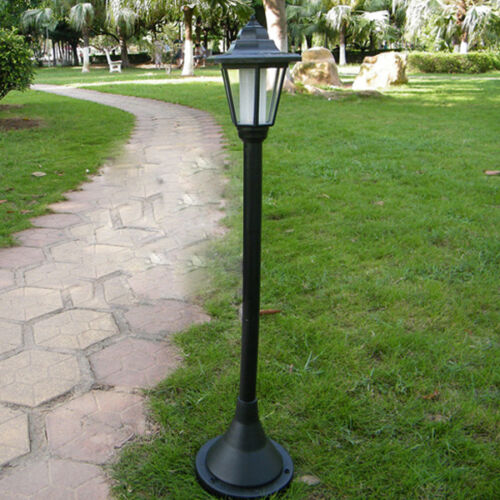 about solar powered light control waterproof garden lawn path walkway. Black Bedroom Furniture Sets. Home Design Ideas