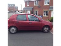2003 Fiat Punto with low mileage