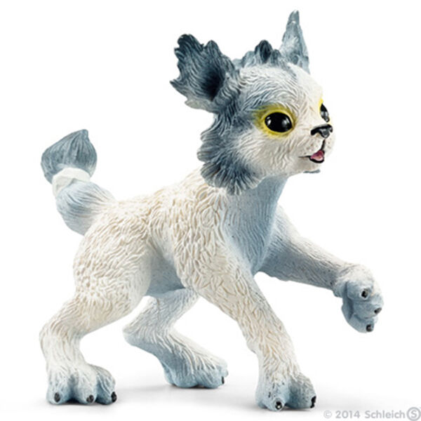 NEW SCHLEICH 70490 Ki-Kuki Ice Cat - Ice Fairies Fairy Elf Fantasy RETIRED