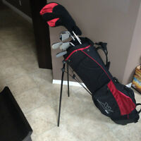 XV 460 Clubs.  Used once at the range