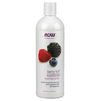 Berry Full Conditioner - NOW Berry Full Volumizing Conditioner 16 fl oz (473 ml)