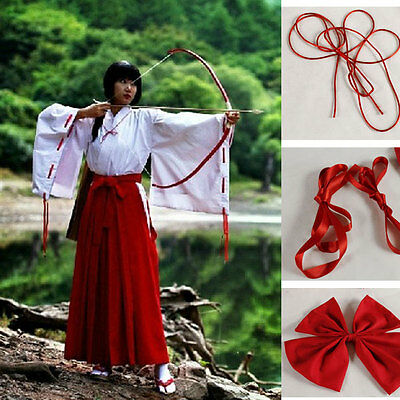 Inuyasha Kikyo Giapponese Kimono Cosplay Costume Whole Anime - Inuyasha Kikyo Cosplay Kostüm