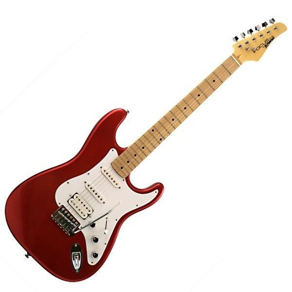 KRAMER FOCUS VT-211S Candy Apple Red (Deluxe) Electric Guitar