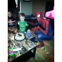 Spider-Man For Public Birthday Appearances!