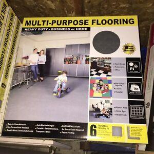 Garage flooring tiles - 20 boxes, 280 SF