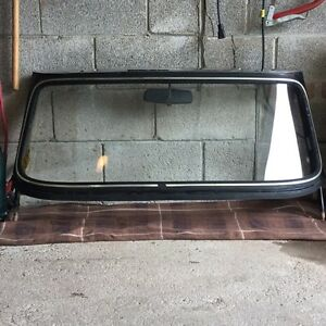 Triumph TR6 1972 OEM windshield and parts