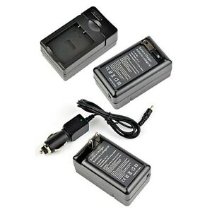 Battery Charger for Sony Cyber-shot DSC-S780 DSC-W190 DSC-W370 DSC-S750 NP-BK1