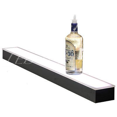 60lighted Liquor Bottle Display Liquor Shelf With Led Color Changing Lights