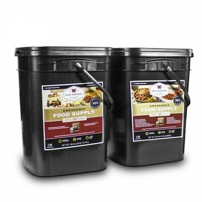 Wise Foods 240 Servings Survival Emergency Bucket Freeze Dried Rations 25 (Food Bucket)