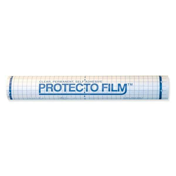 """Pacon Protecto Film Adhesive Clear Cover, 18"""" x 75"""