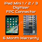Apple iPad Mini 1 2 3 Digitizer / Touch FPC Connector Repair Replacement Service