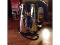 Electric kettle cordless caravan