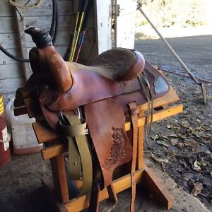 "14 1/2"" kids saddle"