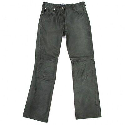 (SALE) ARMANI JEANS Leather pants Size 28(K-19792)