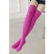 Pink Thigh High Socks