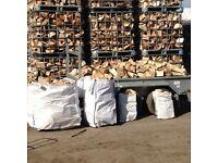 Logs , firewood , kindling , turf