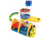 Rotastak Adventure Zone hamster cage - Only 6 months old - comes with extra water bottle and wheel