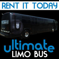 ULTIMATE LIMO BUS (WEDDING, PROM)