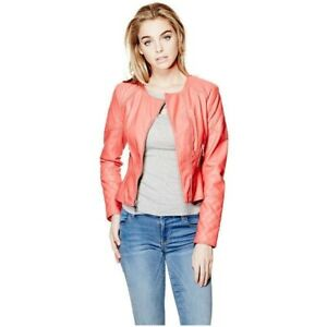 Guess Layla quilted moto jacket