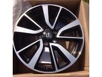 Nissan tekna 19 inch alloy wheel