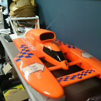 1/8 th scale Miss Elam hydroplane made By PRO BOATS
