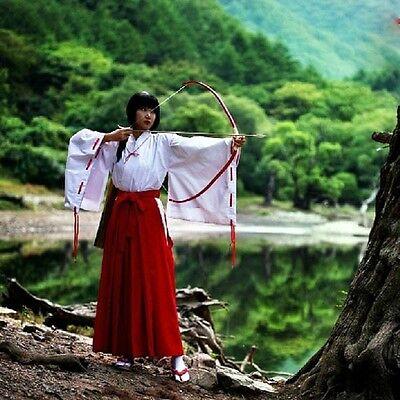 Original Edition Inuyasha Kikyo Kimono Anime Cosplay Costume Uniform