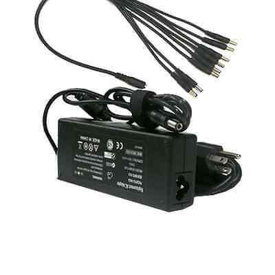 8 Port AC ADAPTER POWER SUPPLY BOX CCTV CAMERAS 8CH 12V