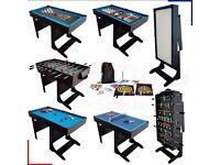 BCE multi games table - football, ping pong, snooker