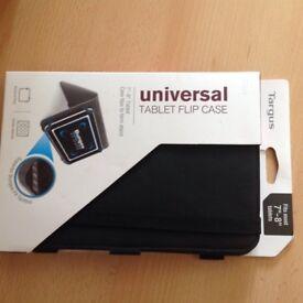 Universal Black Tablet Flip Case