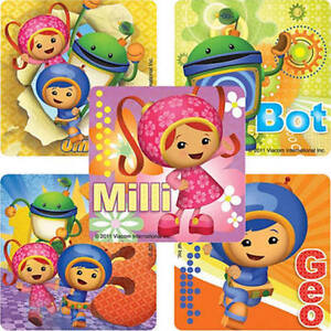 25 Team Umizoomi Stickers Party Favors Teacher Supply FREE SHIPPING