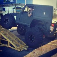 03 Jeep TJ Rubicon lifted on 42s cash or TRADE - Financing