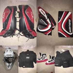 Complete Set of Men's Goalie Equipment