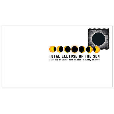 USPS New Total Eclipse of the Sun Digital Color Postmark