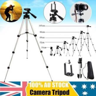Adjustable Camera Tripod Mount Stand Holder for iPhone Samsung
