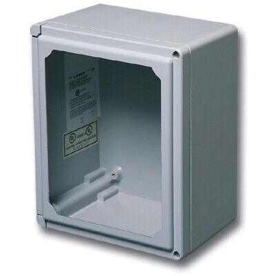 Stahlin Electrical Fiberglass Enclosurebox Classic Window Clw907hw 9x7x5 Fg Hw