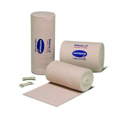 """Elastic Bandage 4"""" With Clips Pack of 1"""