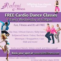 FREE Cardio Dance Classes every Wednesday!