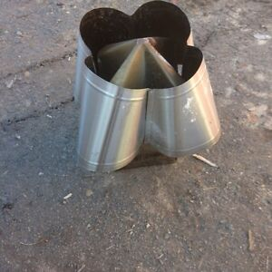 12/12 stainless chimney cap $60