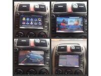 Toyota Auris FSH Sat Nav Bluetooth DVD Freeview Reverse camera