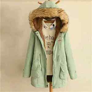 Autumn & Winter Fur Collar Coats Parkas for Women Brand Femal Ap